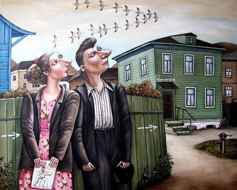 AngelaJerich29 Путешествие в СССР: картины художницы Анжелы Джерих
