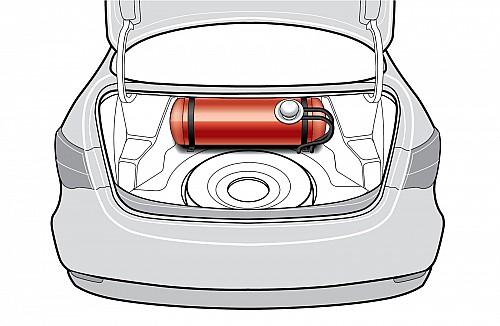 У владельцев легковушек выбор всего из двух вариантов размещения газовых баллонов. Хотя иногда встречается эксклюзив в виде небольших емкостей вдоль борта или обоих бортов.