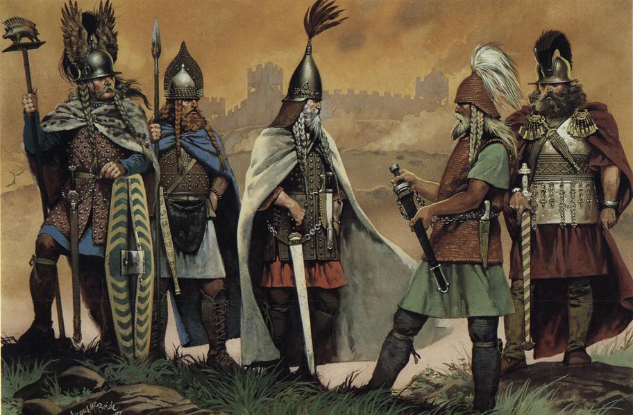 Современные европейцы могут в значительной части, оказаться потомками выходцев из степей юга России и Украины.