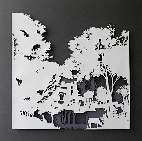 Картины из бумаги схемы шаблоны