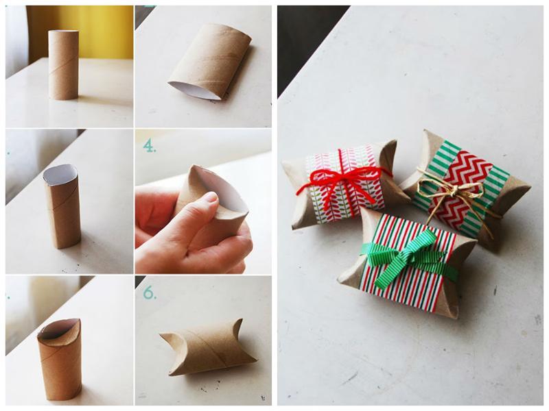 Обернуть подарок цветной бумагой