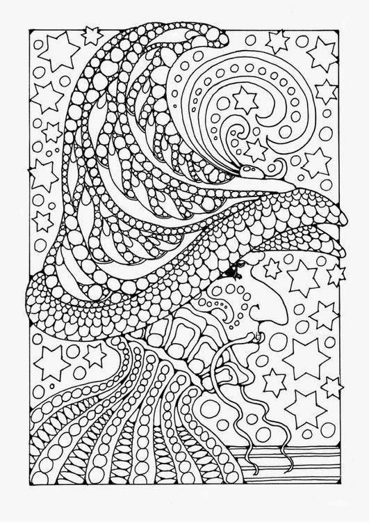 Раскраски для взрослых с мелкими деталями