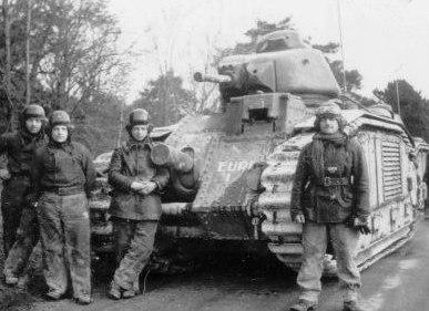 Французские танкисты, которые не стали  удирать от фашистов