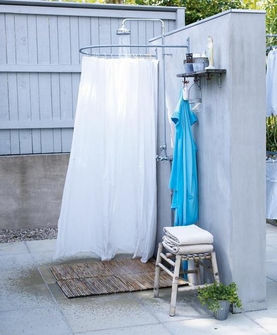 Как сделать душ на даче своими руками из подручных 91
