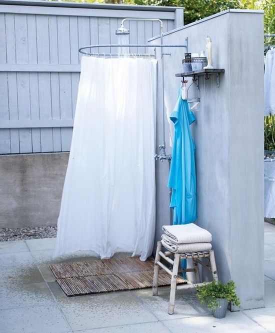 Делаем летний душ фото