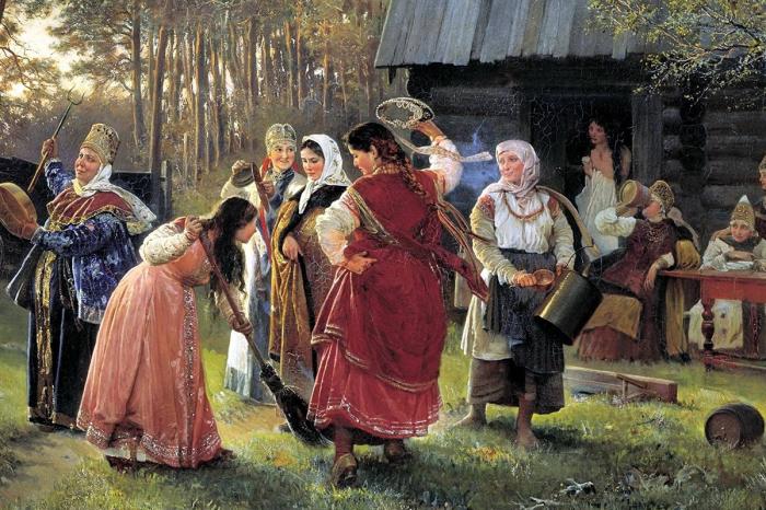 Тили-тили тесто: Запытывание невесты, согревание брачного ложа и другие традиции русской свадьбы