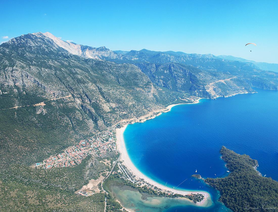 Красивейшая бухта Турции, город-призрак, ликийские гробницы и аэрофото
