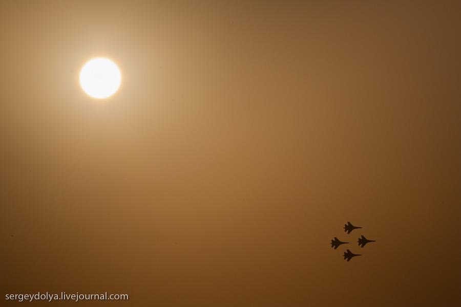 1227 Авиасалон в Бахрейне: Фотографии, сделанные против солнца