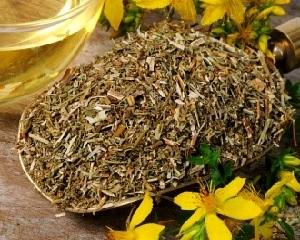 Целебные травы (зверобой) для очищения печени