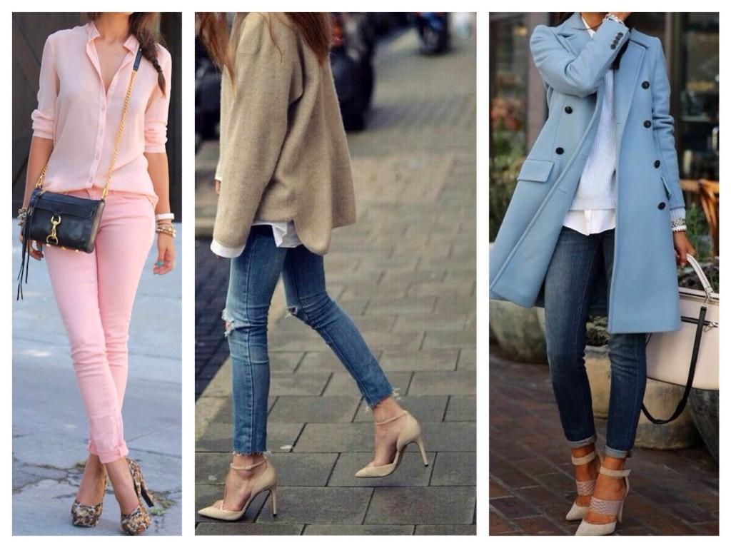 С какой обувью сочетать джинсы: 34 стильных варианта