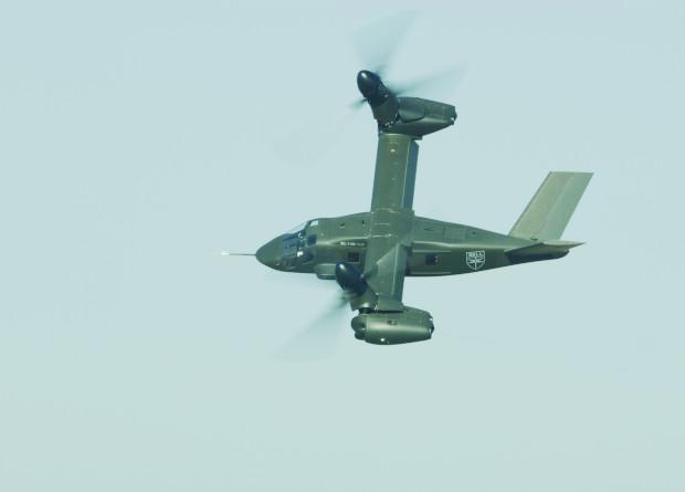 Конвертоплан V-280 испытали …