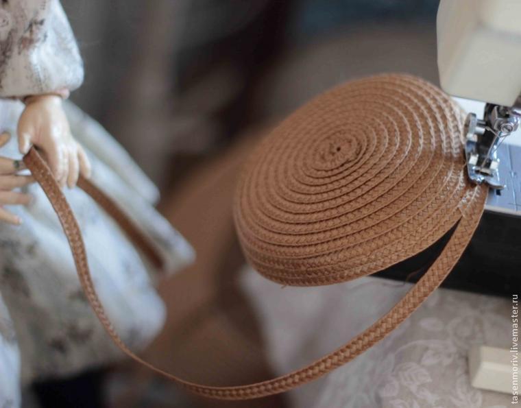 Как сделать соломенную шляпу для куклы своими руками