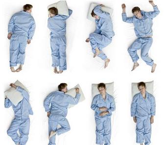 Позы сна меняются из-за болезни, какая поза во время сна правильная