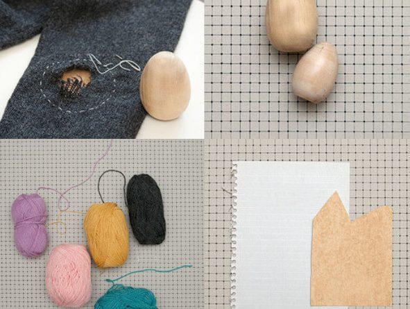 Творческая штопка одежды