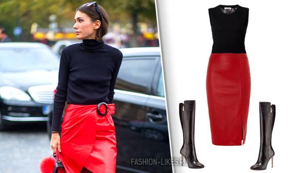Как носить одну юбку всю неделю, быть разной и выглядеть шикарно