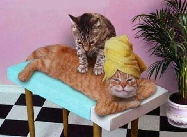 Про массаж!