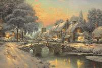 Сказочные картины художника Томаса Кинкейда