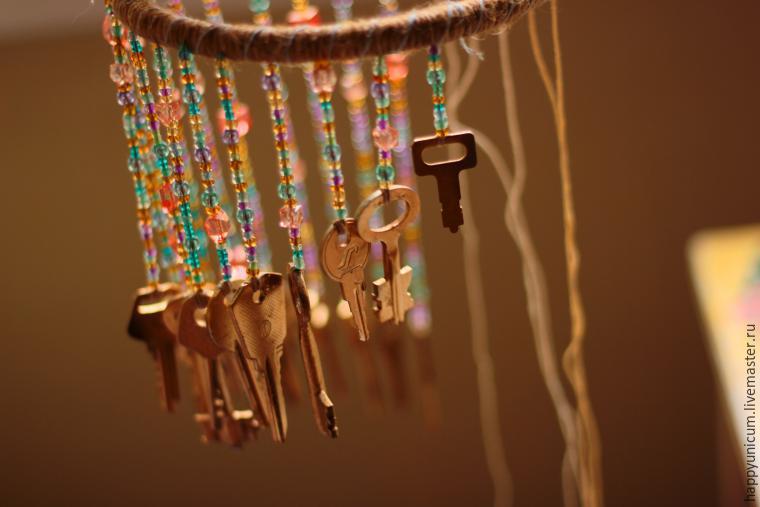 Музыка ветра из старых ключей своими руками 72