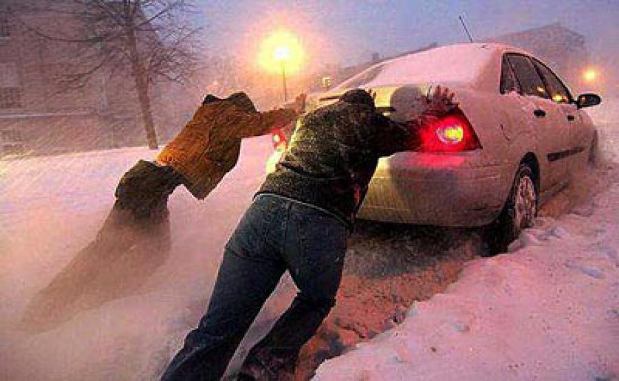 Как не застрять в снегу