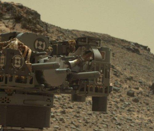 Марсианский ландшафт #2