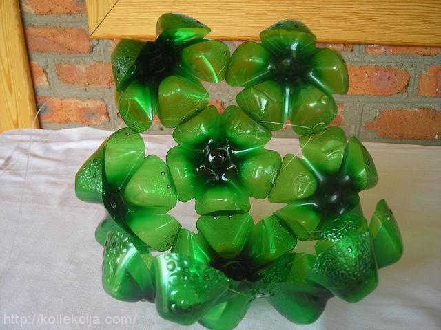 Как сделать шар из пластиковой бутылки своими руками