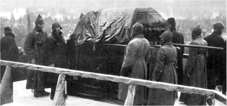 7 тайн похорон Владимира Ленина