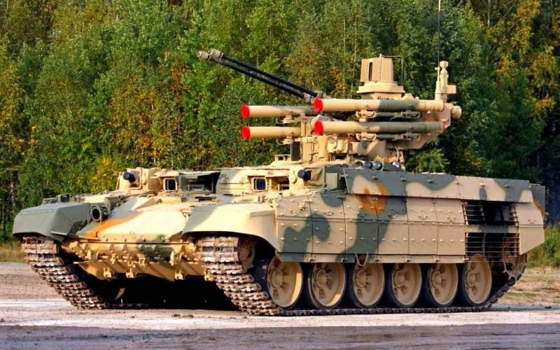 Готовится серийный выпуск «штурмового танка» «Терминатор» для ВС РФ