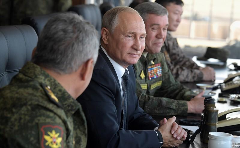 Путин на учениях рассказал о миролюбии России