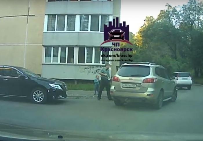 В Красноярском крае военный …