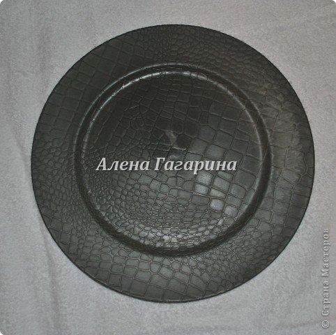 Декор предметов Мастер-класс Декупаж Тарелка Фламенко Бумага фото 2