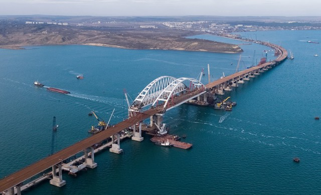 Украина подала иск против России за Крымский мост