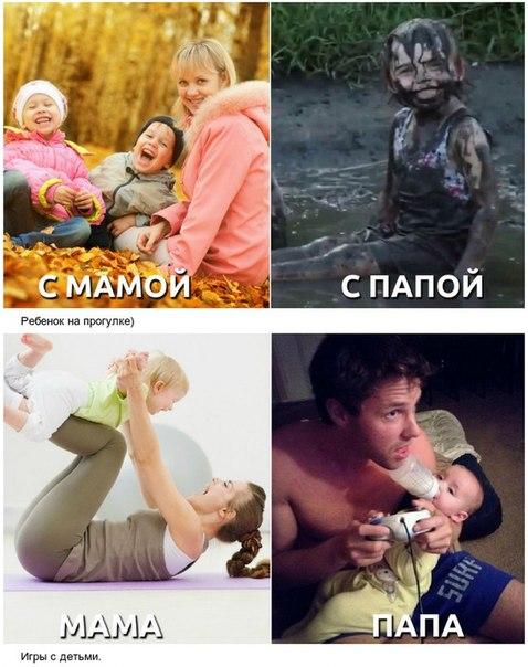 Мама или папа