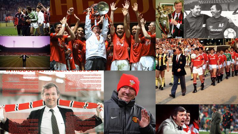 Alex Ferguson Алекс Фергюсон: Самый титулованный тренер Манчестер Юнайтед