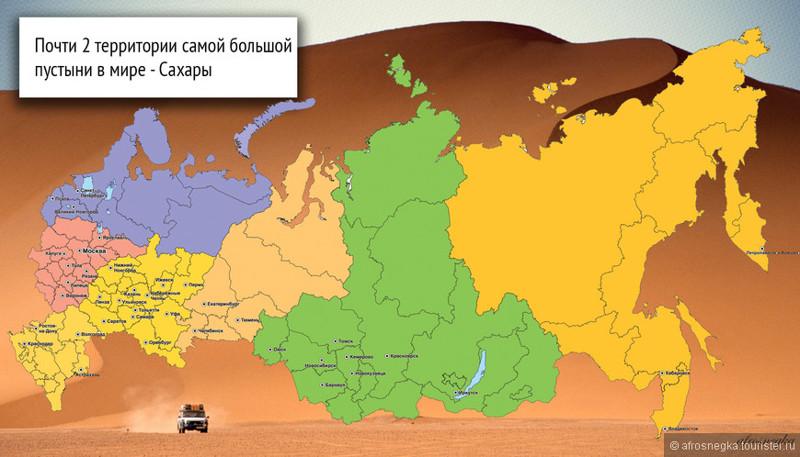 Насколько велика Россия от края и до края? Вау, вот такая география мне по душе!!!