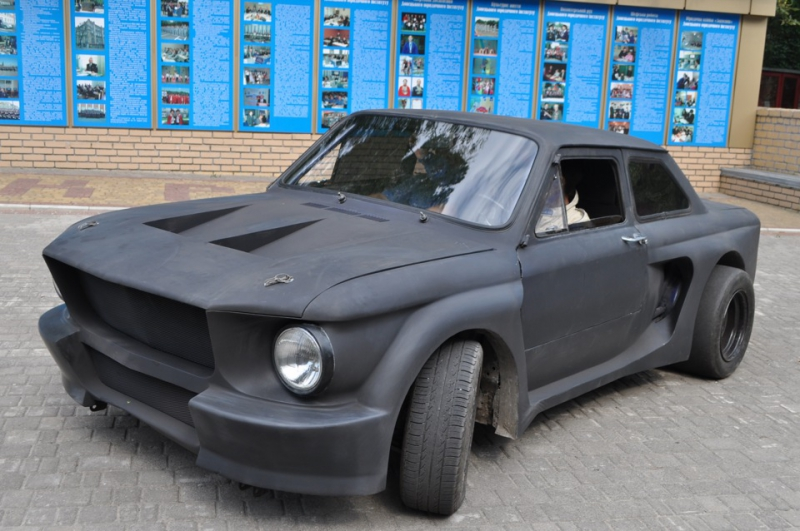 """ЗАЗ 968 или всем известный """"Запорожец"""" стилизованный под мустанг mustang, ЗАЗ 968, запорожец, тюнинг"""