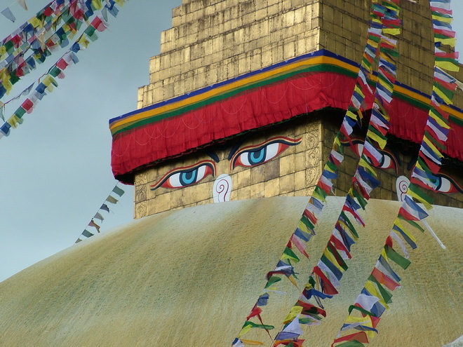 Храмовый комплекс Боднатх. Катманду, Непал