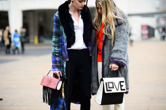 Зимняя уличная мода: не быть как все