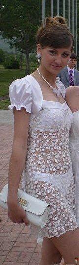 Таких выпускных платьев вы ещё не видели...