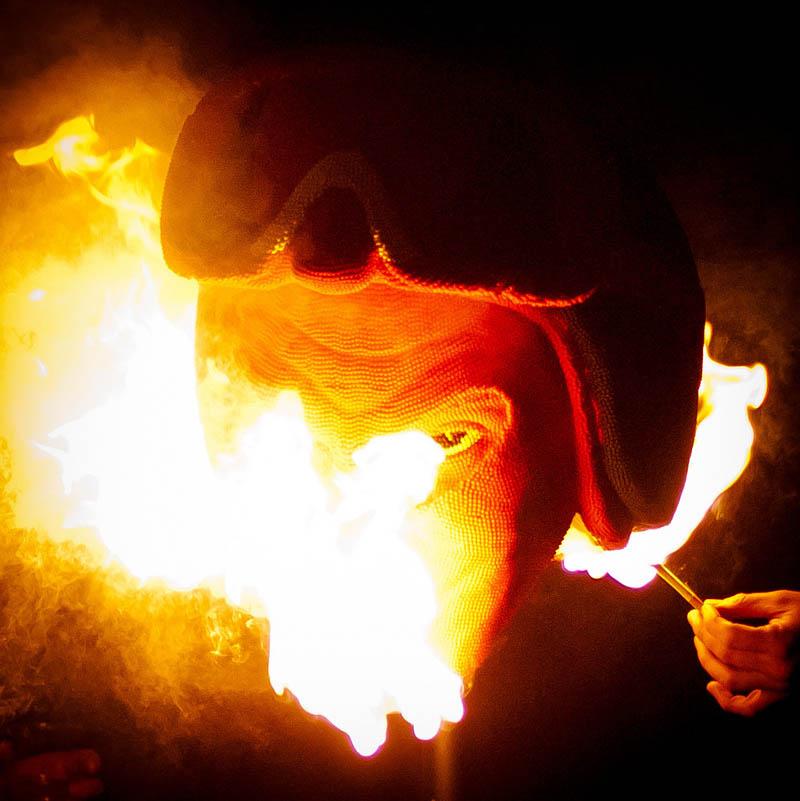7137 Гори оно огнем   как горит дьявол из спичек