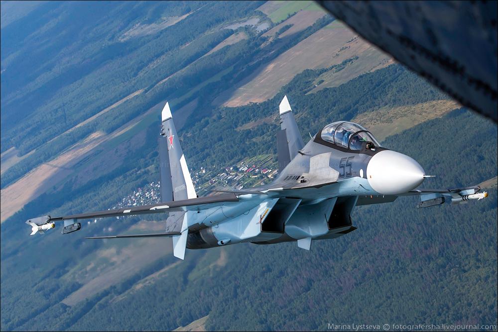 Истребители ВКС России перехватили 3 турецких самолета