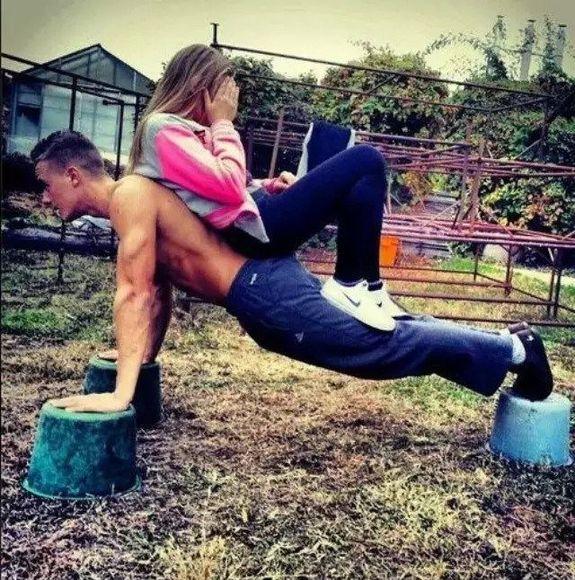 Парный фитнес: двойная польза тренировок для влюбленных.