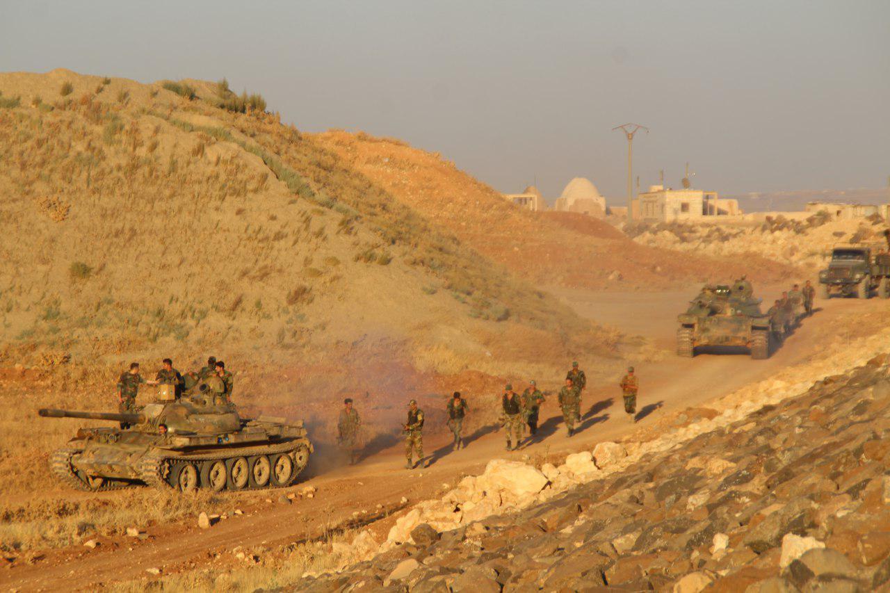 Армия Сирии проводит разведк…