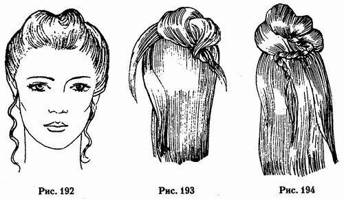 Жгуты для длинных волос