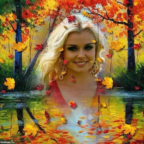 Аня, русская краса.