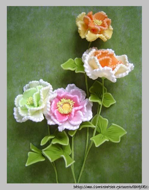 Капроновые цветы своими руками фото