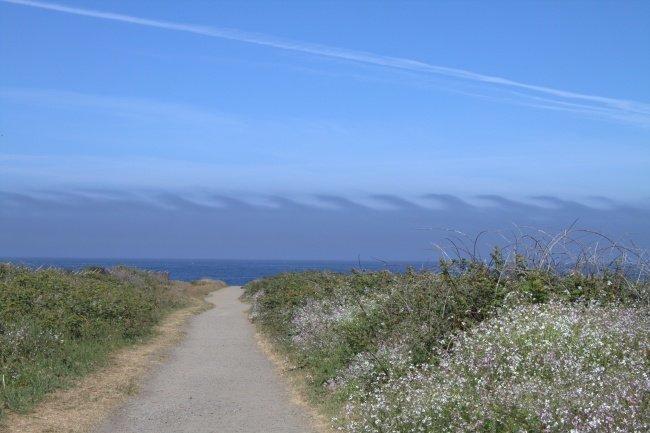 Облака Кельвина-Гельмгольца наука, пророда, сверхъестественные явления