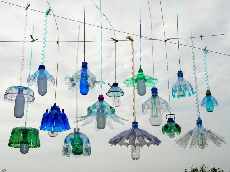 Пластиковые произведения художницы Veronika Richterova