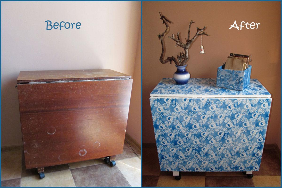Как преобразить старую мебель своими руками фото