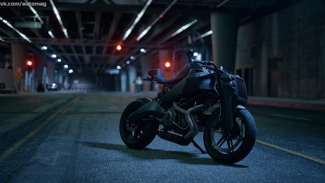 Черный матовый красавец Ronin Motorworks 47 (Мечта, а не просто средство передвижения!)
