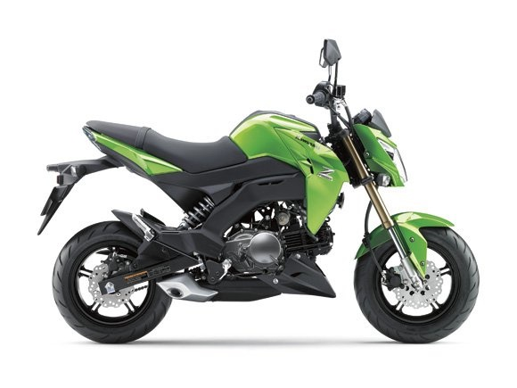 Минибайк Kawasaki Z125 2016